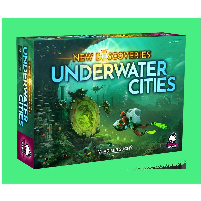 Podmořská města - Nové objevy (rozšíření)